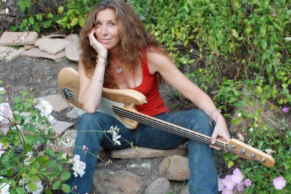 Kate Burkart, singer - songwriter - bassist